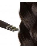 Extension à coller cheveux foncés