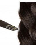 Russian wavy Hair Extensions brown