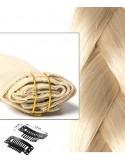 Extension à Clip Blond Platine