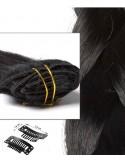Extension à Clip lisse noir
