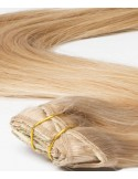 Clip In Extension Russian Hair Honey Blond