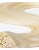 Extension à Clip Cheveux russe Blond Platine