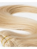 Clip In Extension Russian Hair Blond Caramel