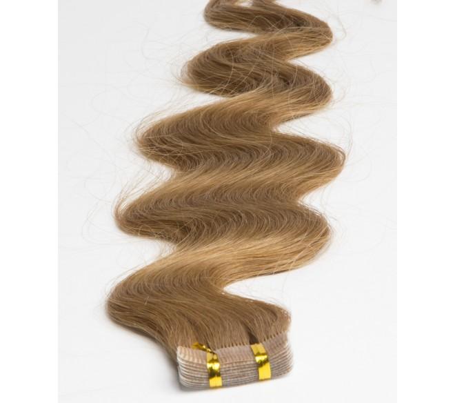 Extension cheveux russes ondulés