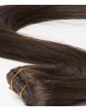 Kastinenbraun Clip Extension Russische Haar