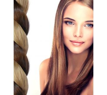 50 Gesträhnte Bondings Haarverlängerung
