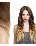 25 Mèches d'Extensions Kératine Tie & Dye - Ombré Hair