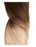 25 Microring Extensions Ombré Hair - Tie & Dye