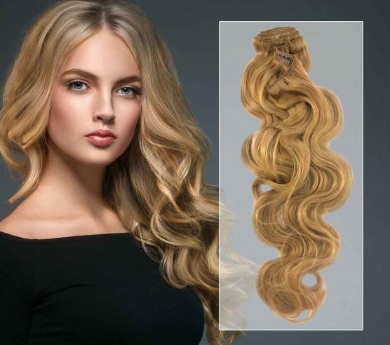 Extension a clip cheveux russe