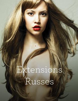 Extensions de Cheveux russes